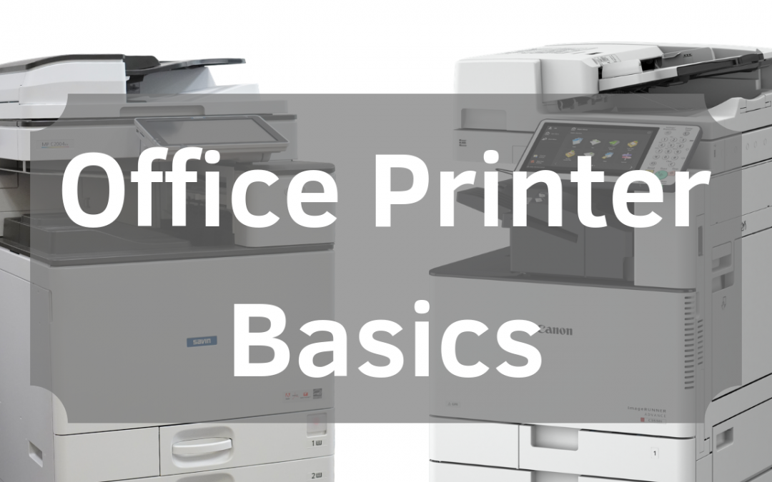 Office Printer Questions to Answer Before Buying
