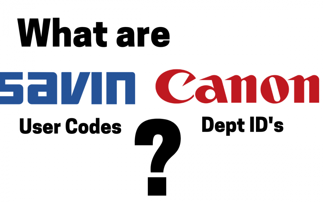 What are User Codes and Department ID?
