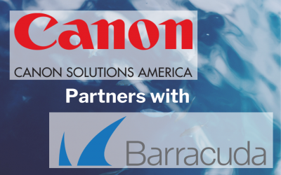 Canon Solutions America Partners with Barracuda
