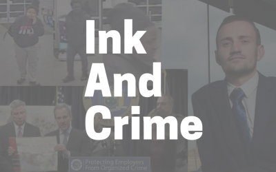 Three Criminal Stories about Ink