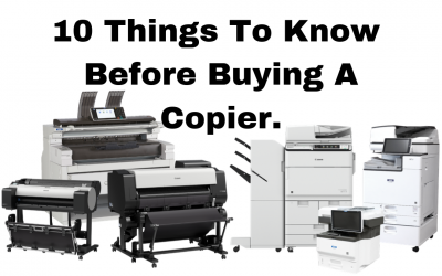 10 Things to Know Before Buying a Copier
