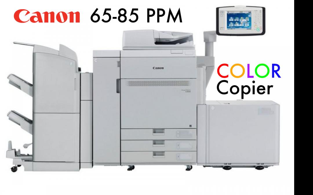 Canon imagePRESS C650/C750/C850