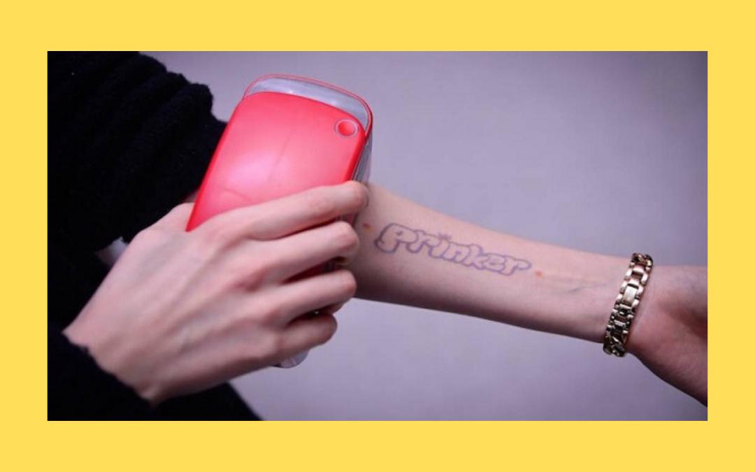 Prinker: The Temporary Tattoo Printer