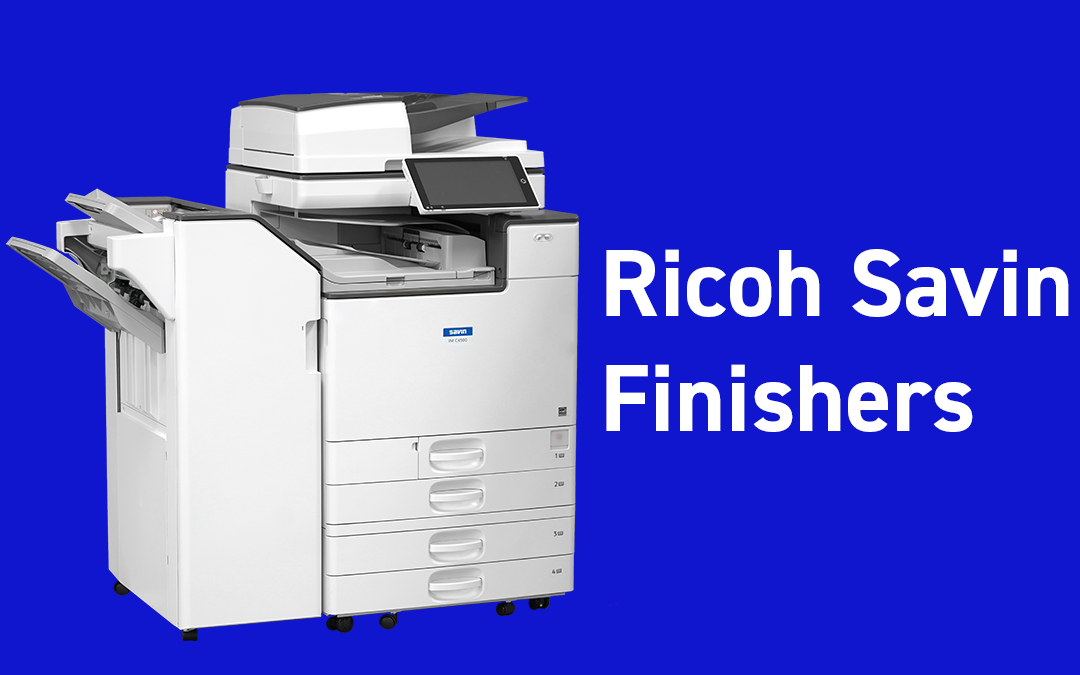 Finishers for Ricoh Savin Copiers