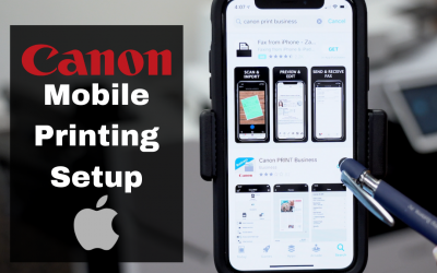 Setup Mobile Printing for Canon Copiers