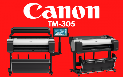 A Mid-Duty Color Wide Format Printer, The Canon TM-305