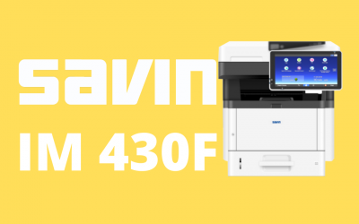 A Great Compact Copier, The Ricoh Savin IM 430F/350F/430Fb/430FbTL