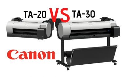 The TA-20 vs TA-30 (Canon Wide Format Printers)