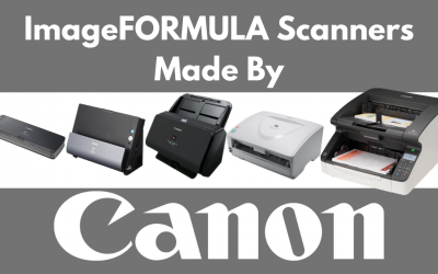 Which Canon ImageFORMULA Scanner Do I Buy?